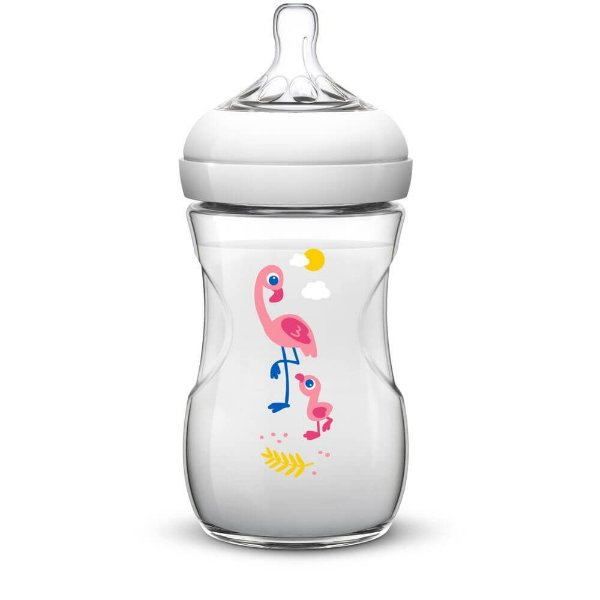 Mamadeira 260ml PÉTALA Flamingo - Philips Avent
