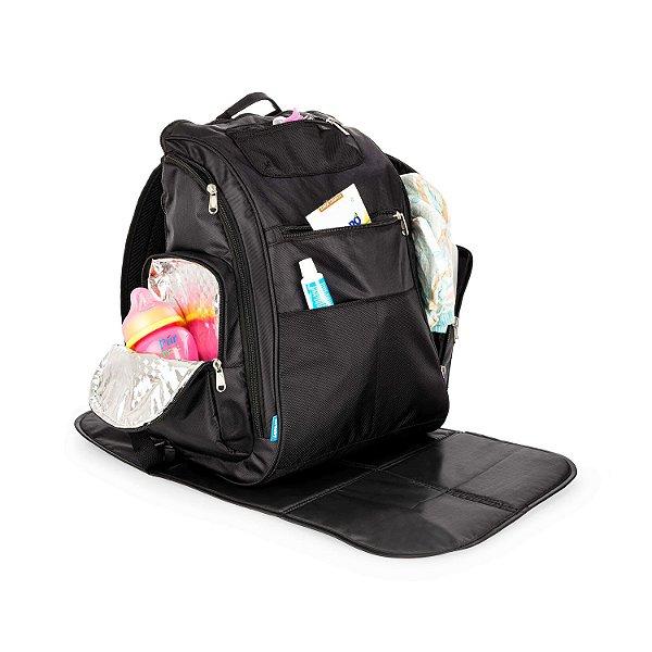 Bolsa Maternidade  Backpack  Preta - Kababy