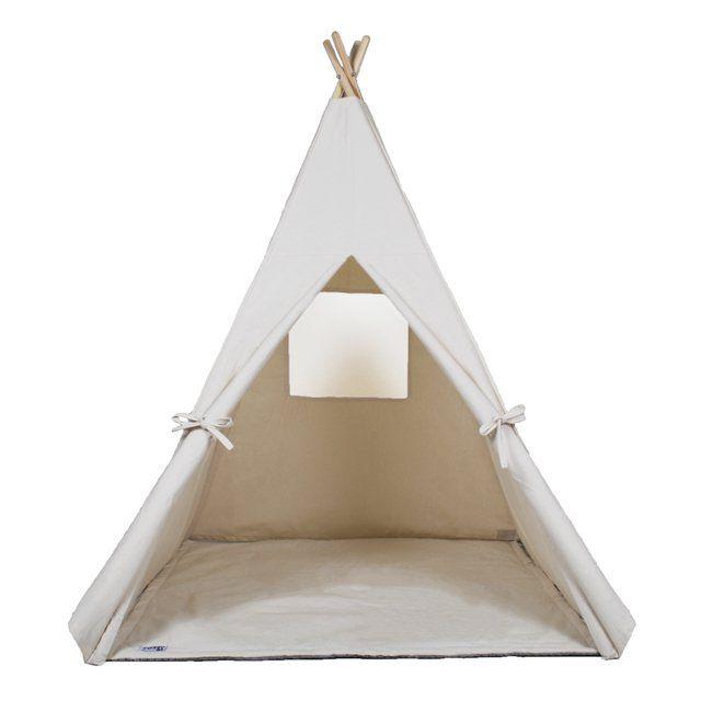 Cabana Lisa de Algodão Crú c/ Tapete- Hello Foxy