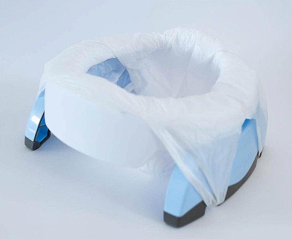 Privadinha Portátil e Assento de Treinamento Azul - Potette Plus