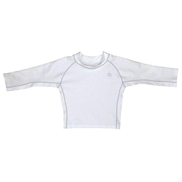 Blusa Infantil com Proteção Solar Branca FPS 50+ - IPlay