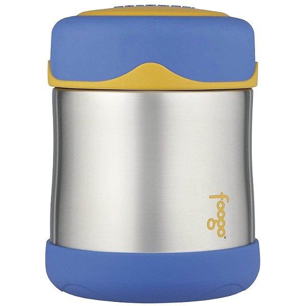 Pote Térmico Foogo Azul e Amarelo - Thermos