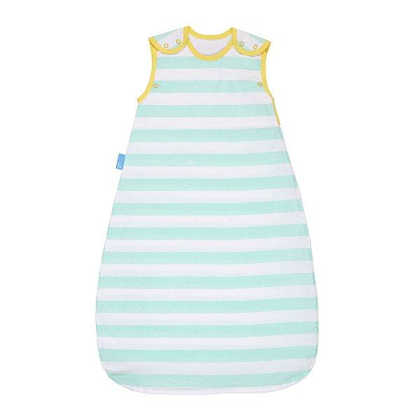 Saco de Dormir com Repelente Azul Listrado - Gro Company