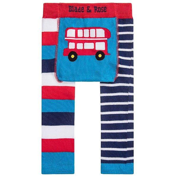 Meia Calça Legging Infantil Ônibus - Blade and Rose