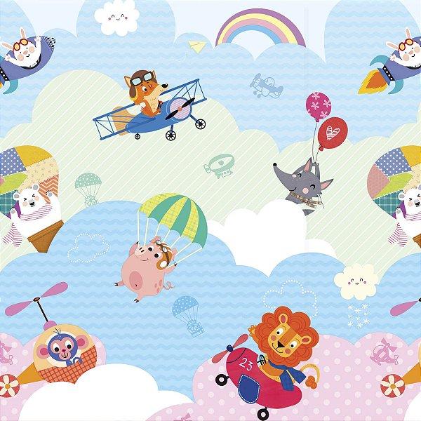 Tapete de Atividades Dupla Face Baby Play Mat Médio Love Sky - Safety 1st