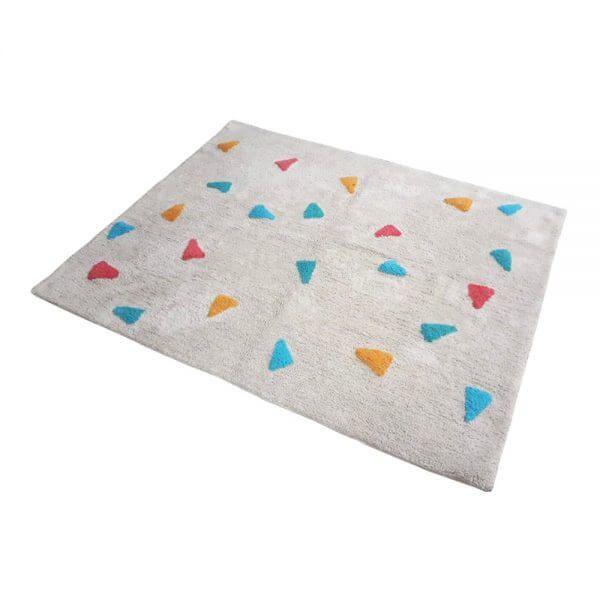 Tapete Confetti Bege Multicolorido - Nina & Co.