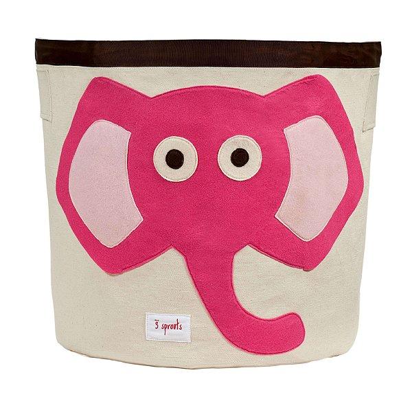 Organizador Redondo Elefante rosa - 3 Sprouts