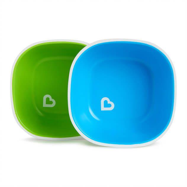 Conjunto com 2 Tigelas Azul e Verde- Munhckin