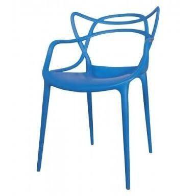 Cadeira Infantil Mix Alegra Azul - Cia do Móvel