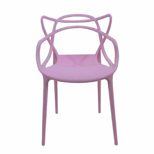 Cadeira Infantil Mix Alegra Rosa - Cia do Móvel