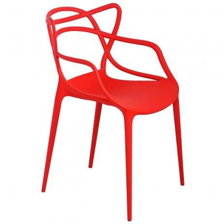 Cadeira Infantil Mix Alegra Vermelha - Cia do Móvel