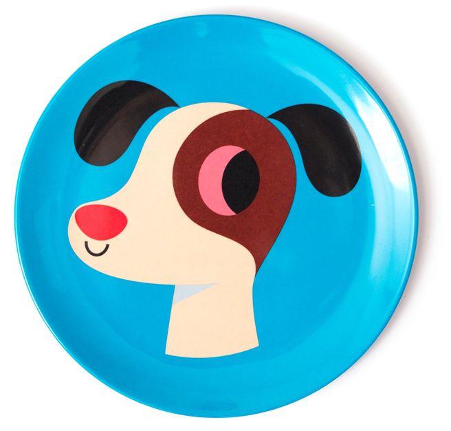 Prato Infantil Cachorro - OMM Design