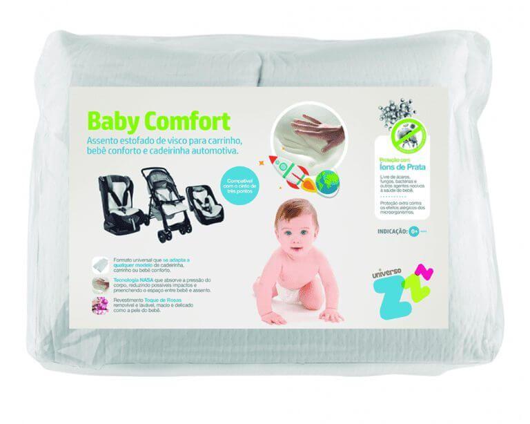 Baby Confort - Assento Estofado de Visco para Carrinho - Fibrasca