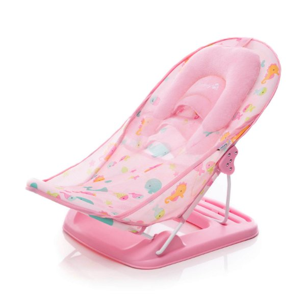 Suporte para Banho Baby Shower Rosa - Safety 1st