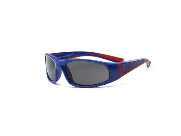 Óculos de Sol Bolt Azul e Vermelho - Real Shades