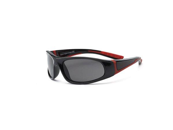Óculos de Sol Bolt Preto e Vermelho - Real Shades
