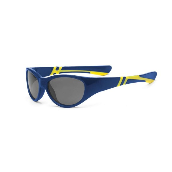 Óculos de Sol Discover Azul e Amarelo - Real Shades