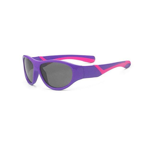 Óculos de Sol Discover Roxo e Rosa - Real Shades