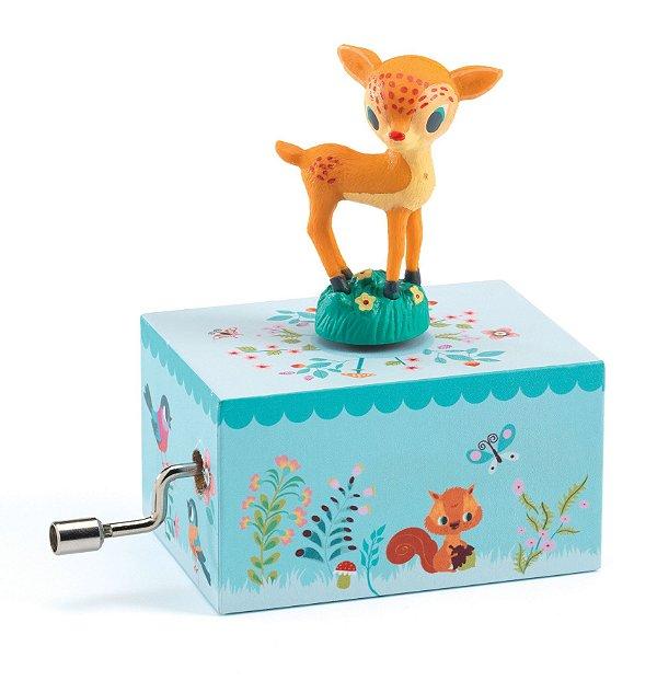 Mini Caixa de Música Cervo no Bosque - Djeco