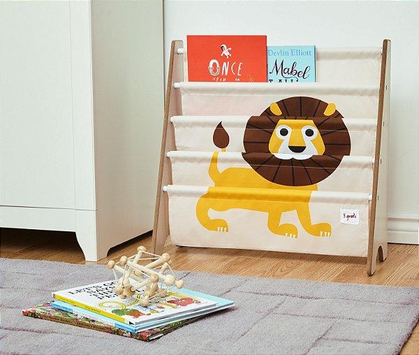 Rack para Livros Leão - 3 Sprouts
