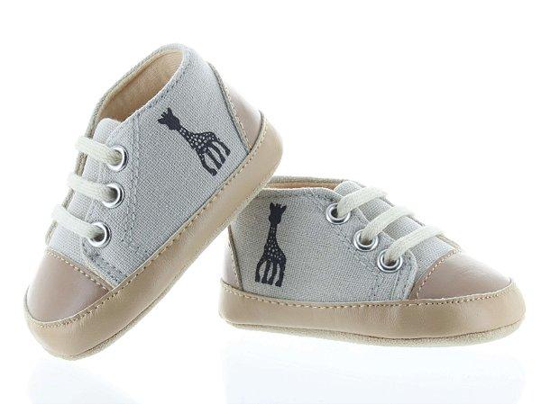 Sapato Infantil Basket Beige Sophie La Girafe - Vulli