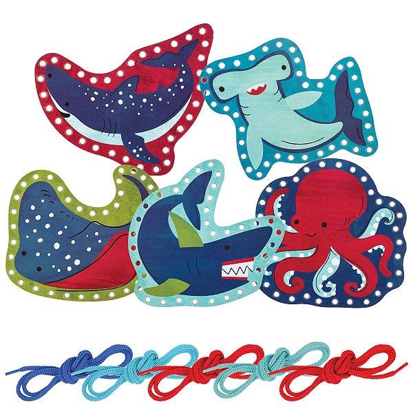 Brinquedo Passa Cordão Tubarão - Stephen Joseph