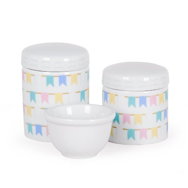 Kit Higiene Bandeirinhas - Modali Baby