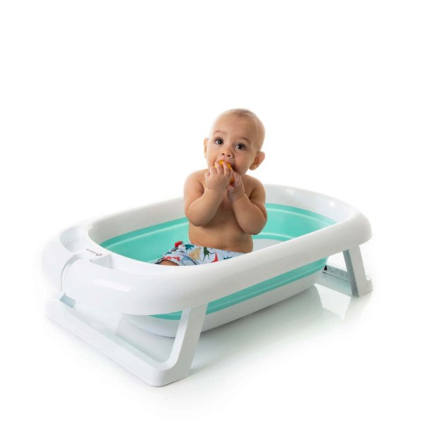 Banheira Dobrável Comfy & Safe Aqua Green - Safety 1st