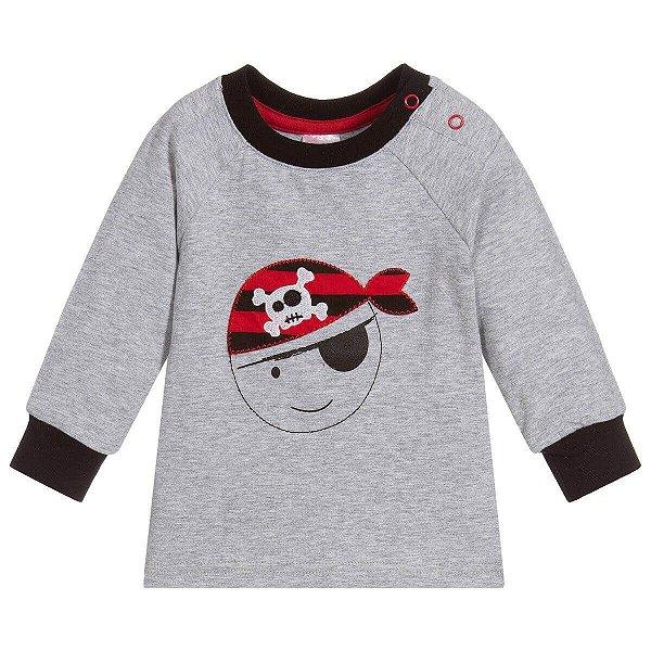 Camiseta Manga Longa Pirata - Blade and Rose