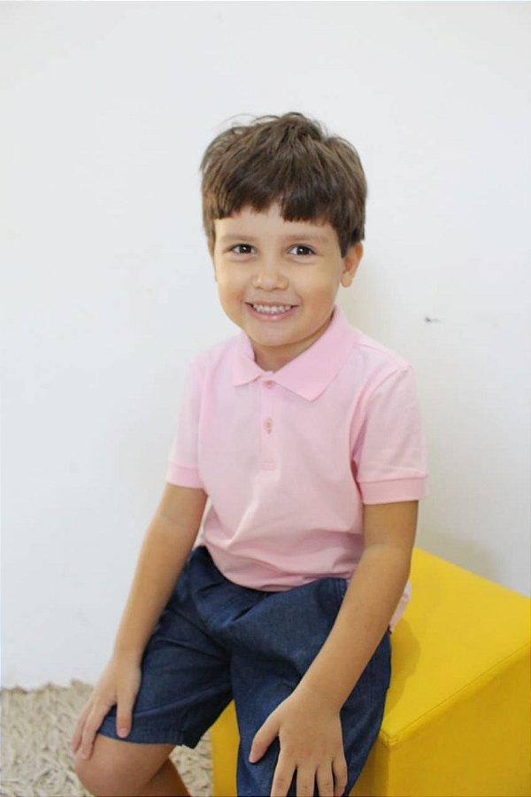 Camiseta Gola Polo De Piquet - Malwee Kids