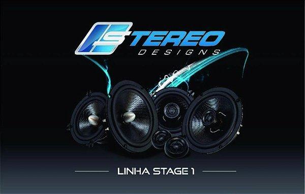 "Stereo Designs Coaxial SDC5-S1 5"" polegada 150w RMS"