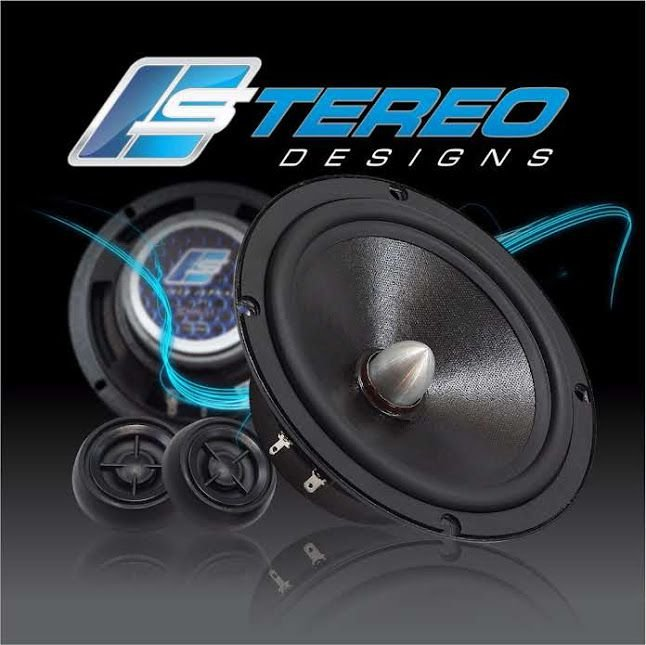 "Kit 2 Vias Sterio Designs SDS6-S1 Mid Bass 6.5"" / Tweeter Neo 1"" 150w RMS"