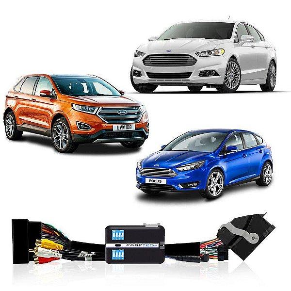 Interface Desbloqueio de Tela Ford / EcoSport / Edge / Fusion / Focus / Ranger / Faaftech FT VF FRD4