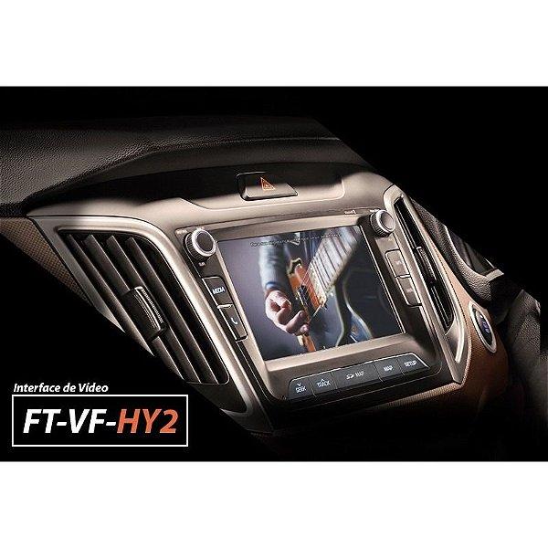Interface Desbloqueio De Tela Hyundai Creta 2017 A 2019 Faaftech FT-VF-HY2