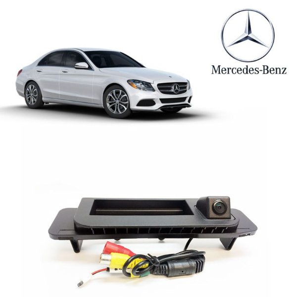 Câmera De Ré Mercedes-Benz- Class C180 15 á 17 C200 15 á 17 C250 15 á 17 C63 15 á 17 Glc 15 á 17