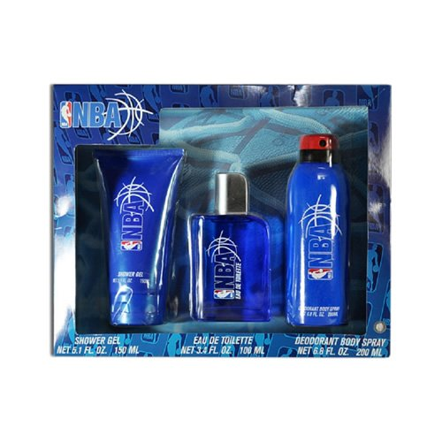 Kit NBA Blue ( Perfume 100 ml + Shower Gel 150 ml + Desod. Spray 200 ml )