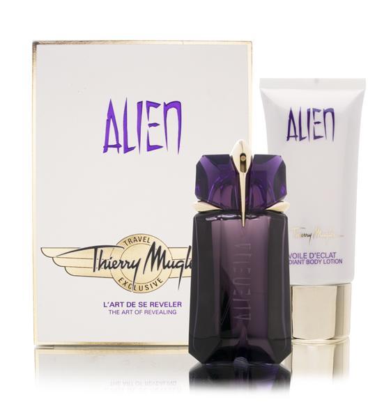 Kit Thierry Mugler Alien - Perfume EDP 60ml + Body Lotion 100ml