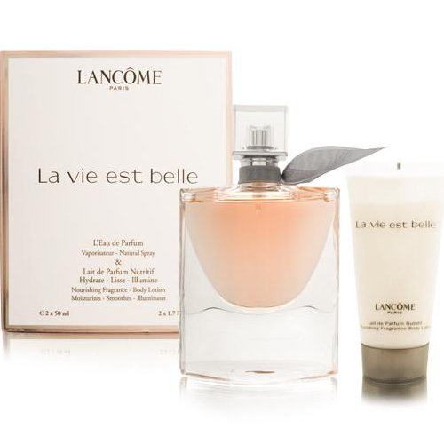 Kit Lancôme La Vie Est Belle - Perfume 50ml + Body Lotion 50ml