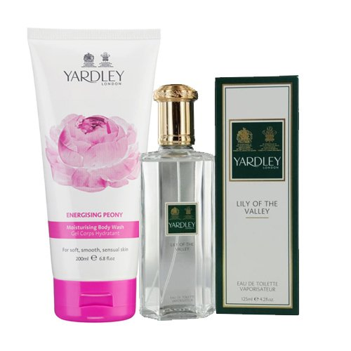 Kit Yardley Lily Of The Valley - Perfume 50ml + Shower Gel 200ml