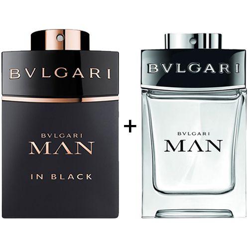 Combo Bvlgari Man In Black 100ml + Bvlgari Man 100ml