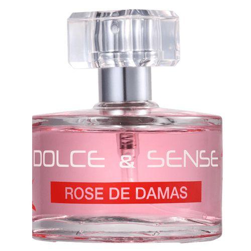 Perfume Paris Elysees Dolce & Sense Rose de Damas EDP Feminino 60ml