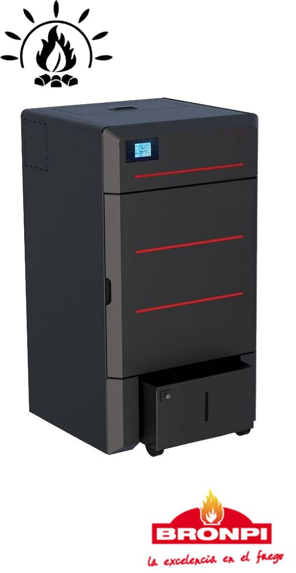 Caldeira Pellet Hydroconfort 23 kW
