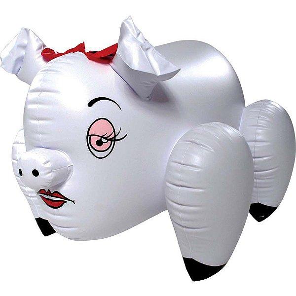 Porquinha Inflável com Orifício Penetrável - Nanma