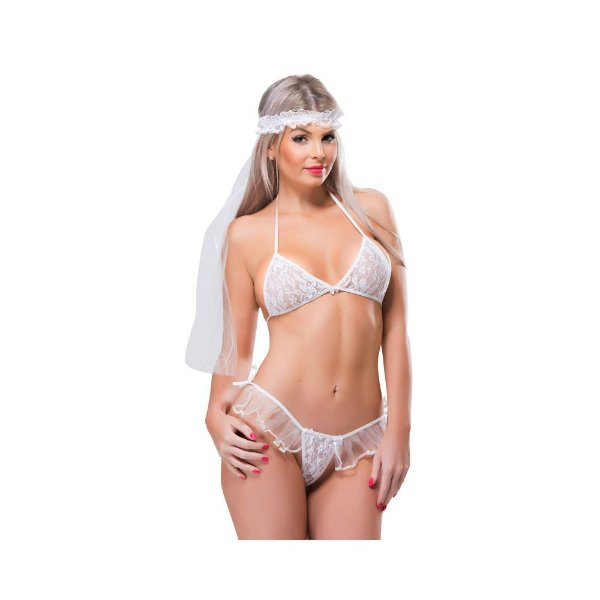 Fantasia Erótica - Noiva Sensual - Coleção Desejos