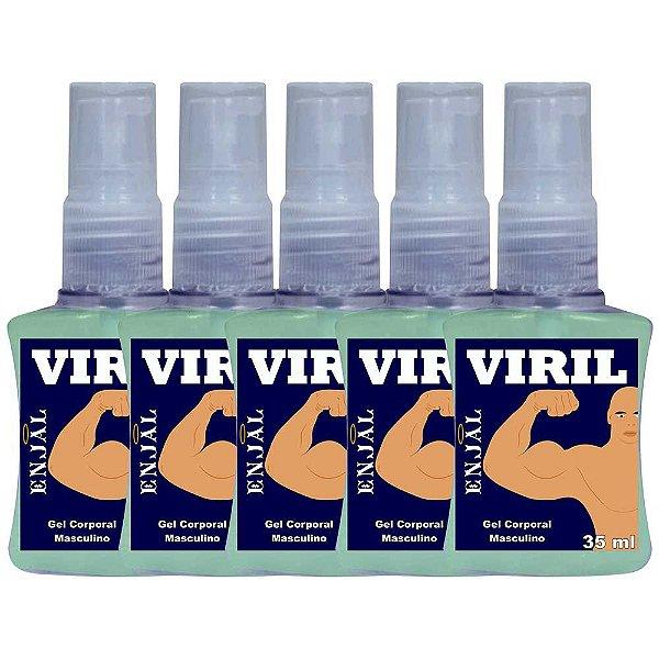 Viril Provocador da Ereção com 3 Funções Spray 35 ml 05 Und