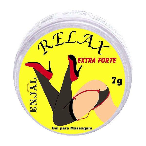Relax Pomada Anestésica Anal Extra Forte 4 Funções - 7g