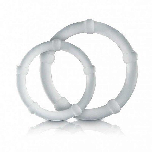 Conjunto 2 Anéis Penianos - Nódulos Estimuladores