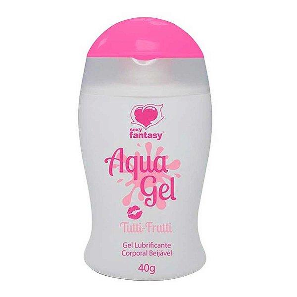 Lubrificante Beijável Tutti - Frutti Aqua Gel 40g