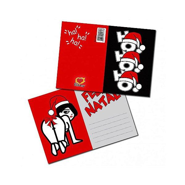 Cartão Erótico - Feliz Natal - Coleção Natal 2017