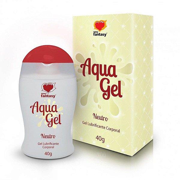 Gel Lubrificante Neutro - Aqua Gel 40g